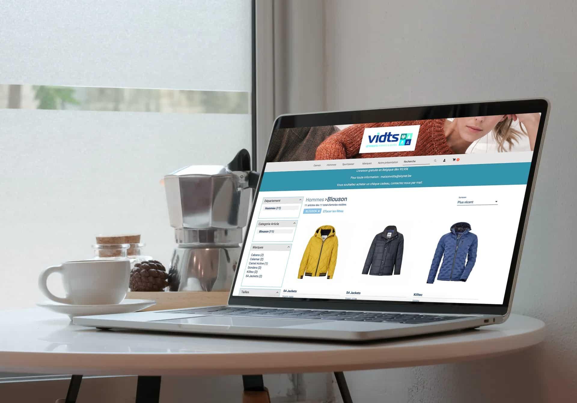 Vêtements Vidts | La référence en habillement dans votre région